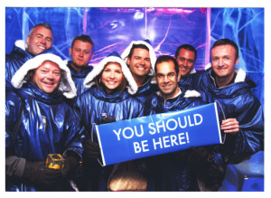 ray higdon in The Ice Bar